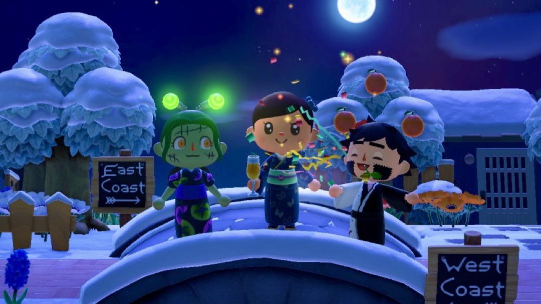 Familie in Animal Crossing