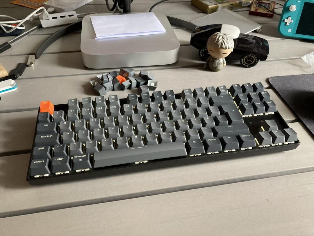 Die Keychron K8 Tastatur